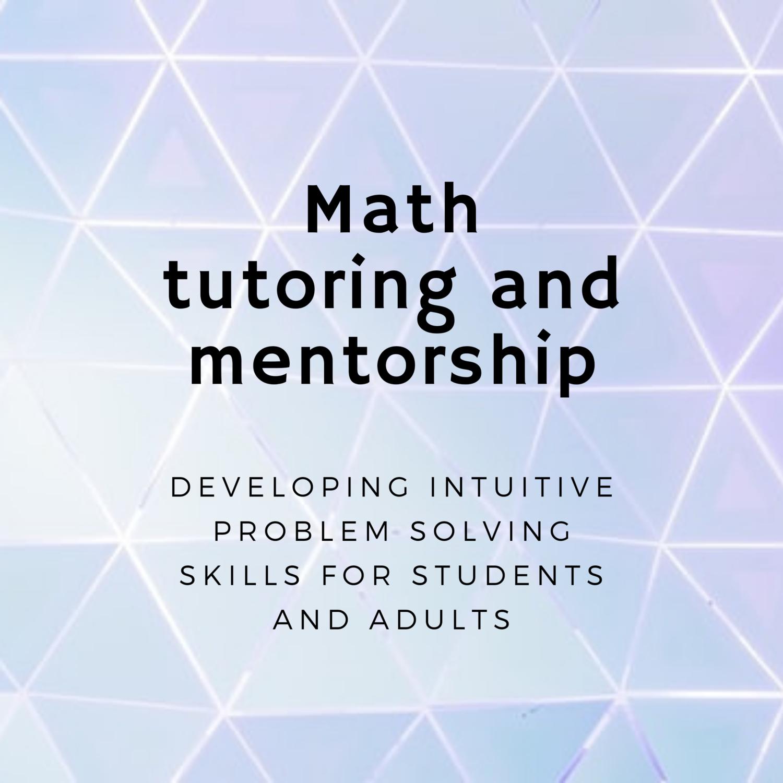 Math Mentorship: Creative Problem Solving