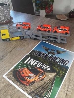 Transport LKW mit Rallyautos (3. Stück)
