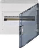 HAGER Vega verdeelkast 1rij 18mod doorzichtige deur