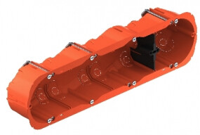 HELIA Hollewand O-range 4-V H 47 mm