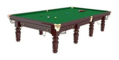 Snookertafel Buffalo Mahonie  12 ft