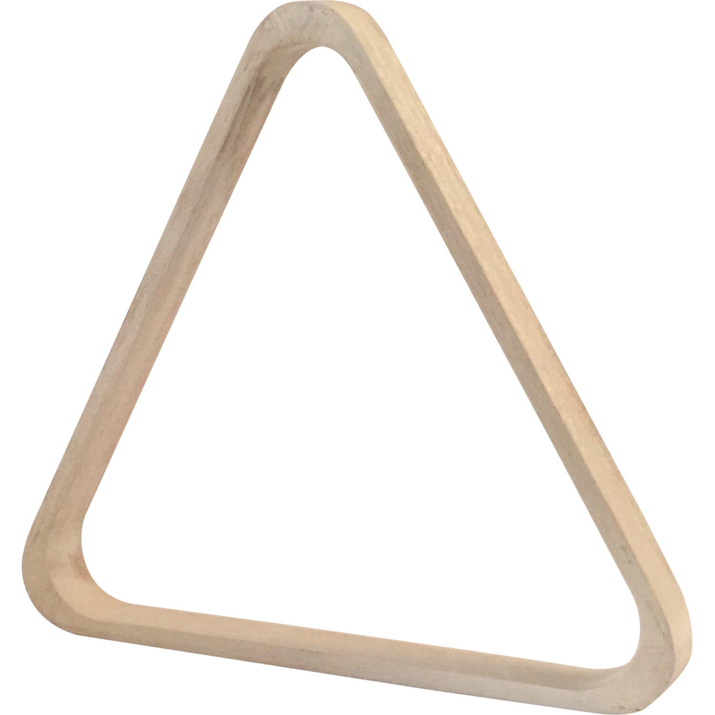 Houten triangel pool wit 57,2 mm