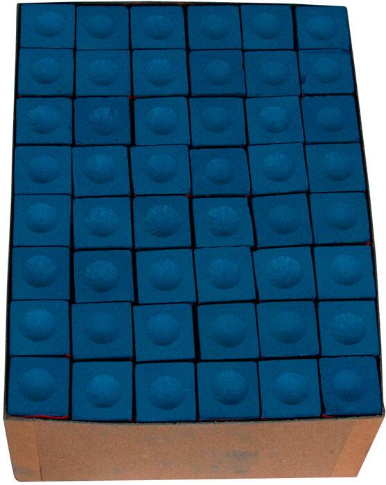 Triangle biljart krijt blauw (144st.)