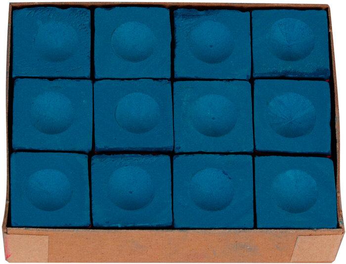 Master biljart krijt blauw (12st.)