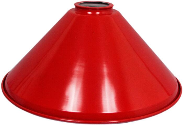 Lampen kap Los 37 cm rood