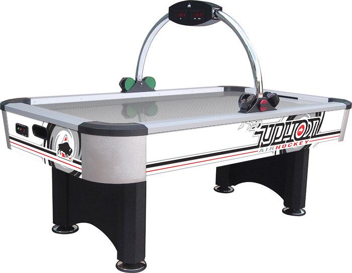 Airhockey tafel Typhoon 7ft RVS