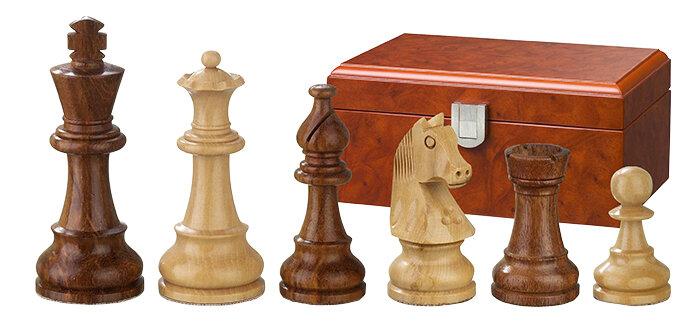 PHILOS schaakstukken Sigismund 70 mm verzwaard