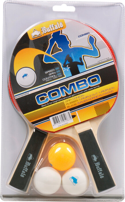 Tafeltennis bat set Buffalo Combo