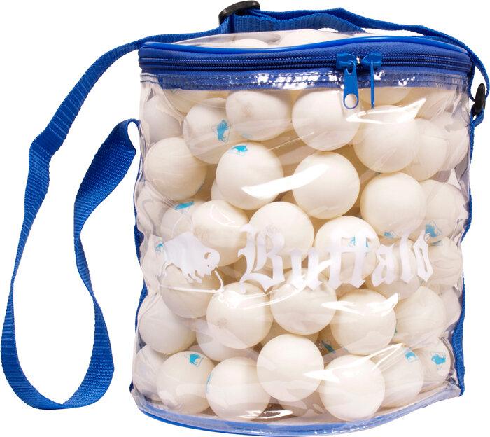 Tafeltennisballen Buffalo voordeelzak (144st.)