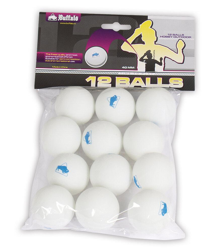 Tafeltennisballen Buffalo Hobby Outdoor 12st.