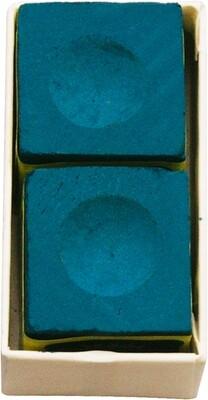 Triangle biljart krijt blauw (2st.)