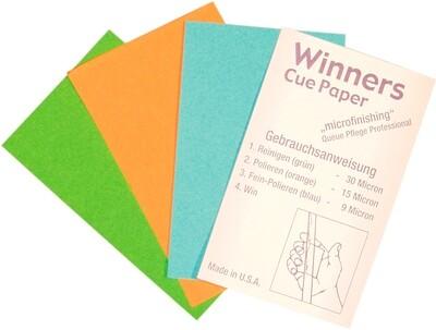 Pomerans schuurpapier Winners