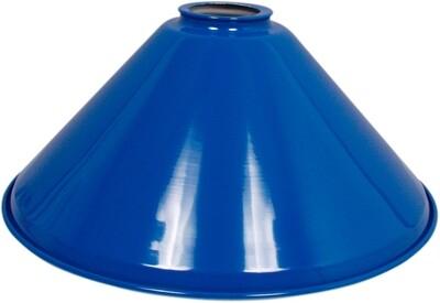 Lampen kap Los 37 cm blauw
