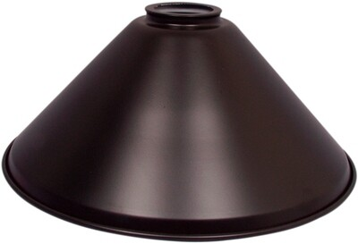 Lampen kap Los 37 cm zwart