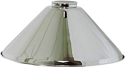 Lampen kap Los 37 cm chroom