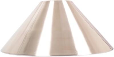 Lampenkap geborsteld staal 37 cm
