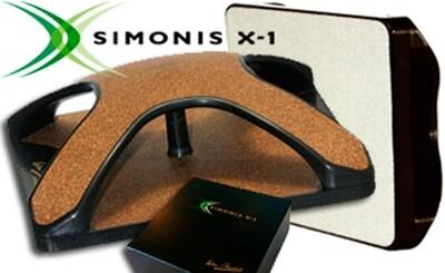 Borstel biljart Simonis X-1 15x15cm