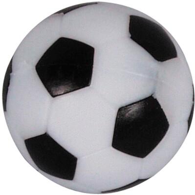 Voetbalballetjes 36.0mm Profiel zwart/wit