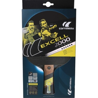 CORNILLEAU Excell 2000 Carbon bat indoor