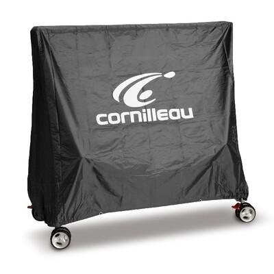 Tafeltennis afdekhoes Cornilleau Premium grijs