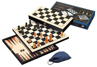 PHILOS Backgammon 3-1 set 44mm