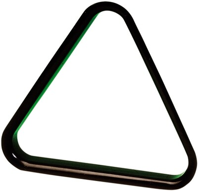 Triangel Snooker 52.4mm plastic snooker zwart
