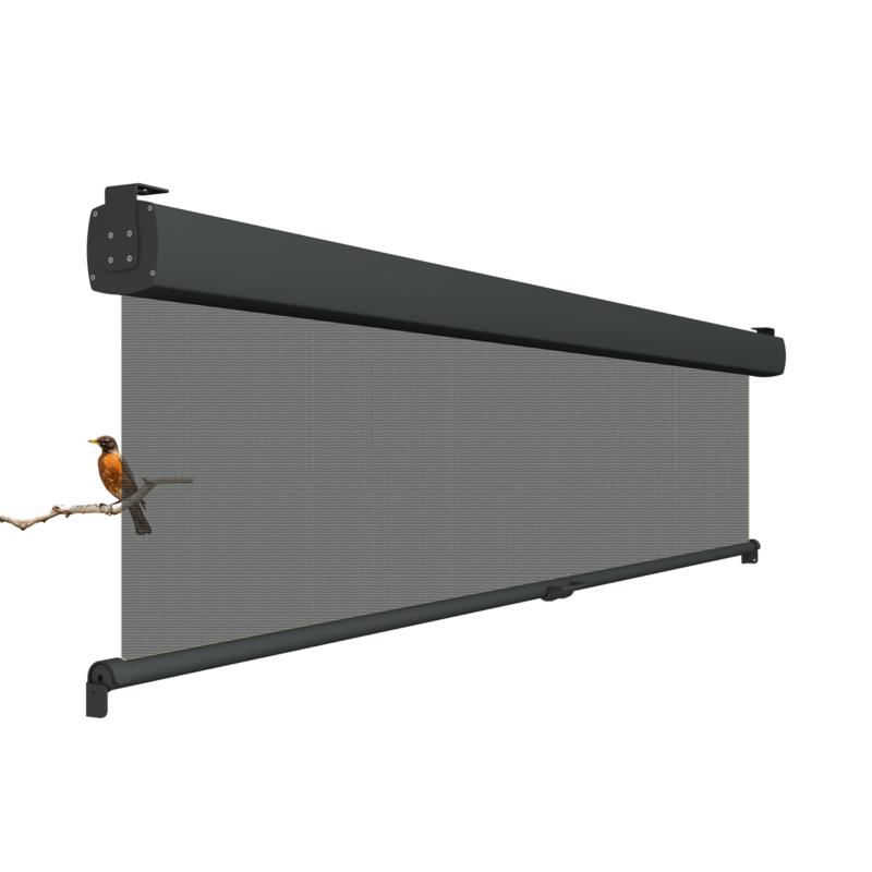 Vita windscherm met zonwering verticaal oprolbaar (Soltis 92 doek)