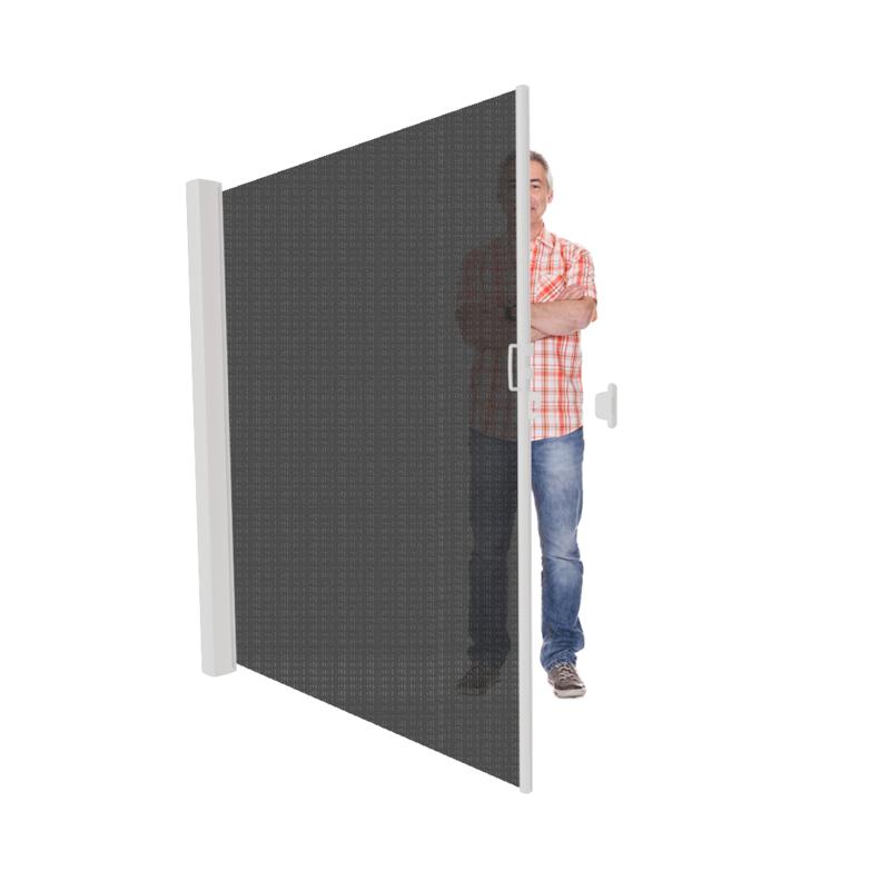 Inova uittrekbaar windscherm met zonwering vanaf 186 cm