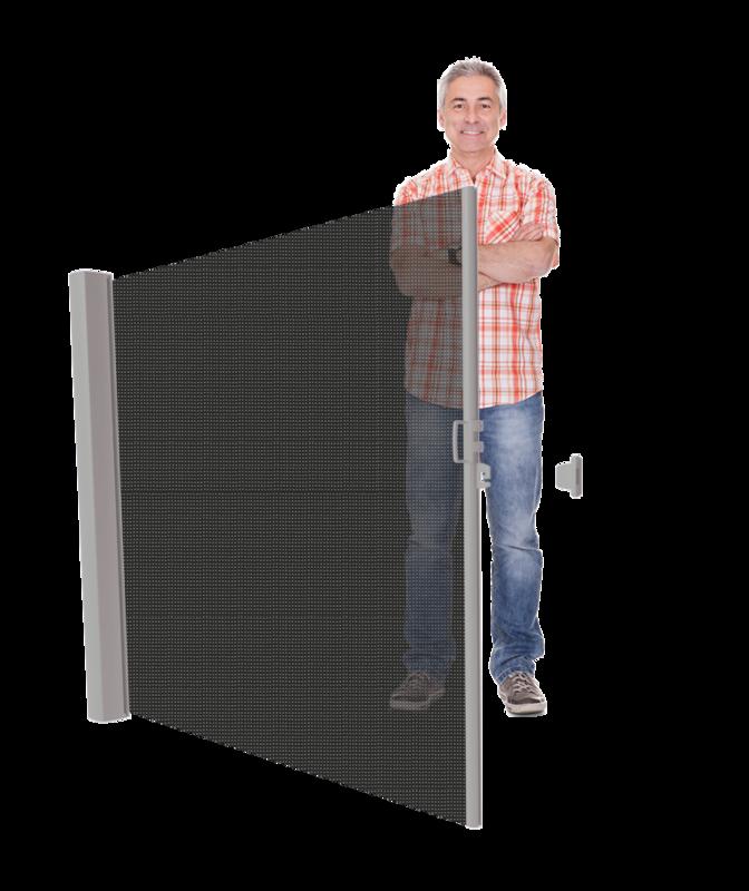 Inova uittrekbaar windscherm ≤185 cm