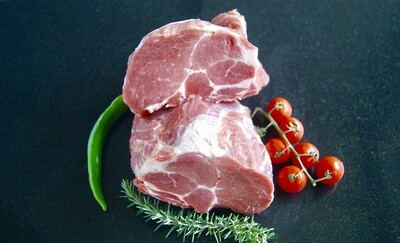 Varkensnek/ Procureur zonder been 500 gram voor € 5.95