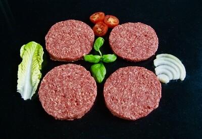 TX Hamburgers 100% rundvlees