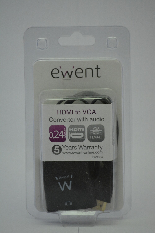 Ewent HDMI naar VGA adapter