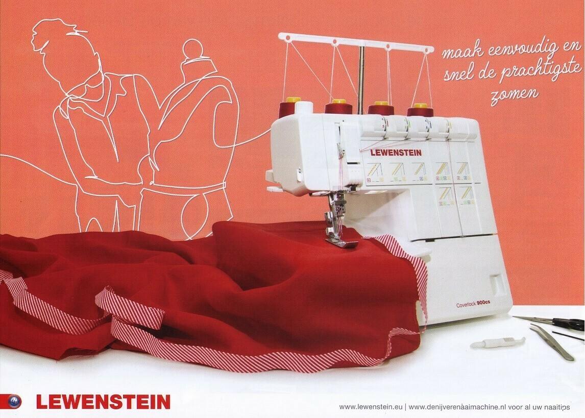 Lewenstein 900CS coversteek machine