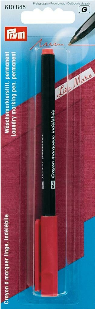 Markeerstift permanent rood