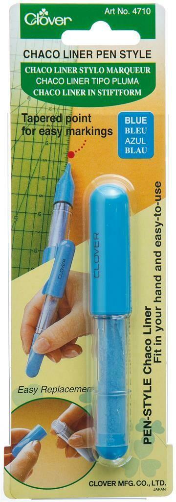 Krijtradeerwieltje Chaco Liner Pen blauw