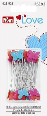 Love kunststof kopspelden