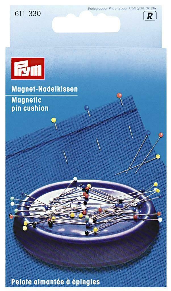 Magnetisch speldenkussen blauw