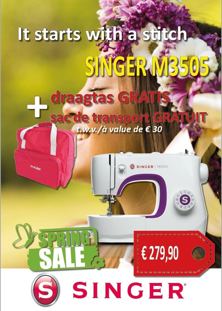 Singer 3505 met gratis draagtas