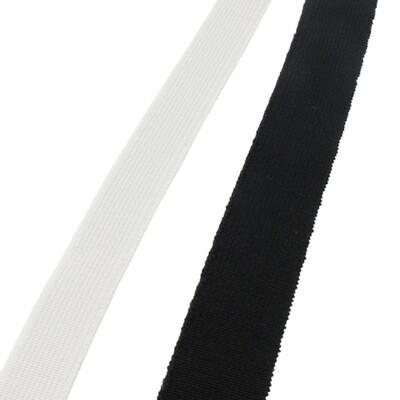 Elastiek voor mondmaskers 4mm wit 50 meter