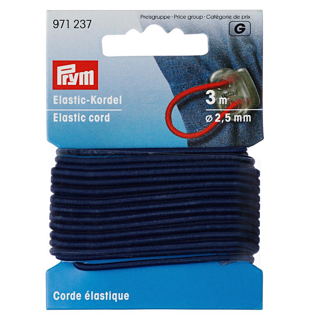 Koord elastiek 2,5mm marine