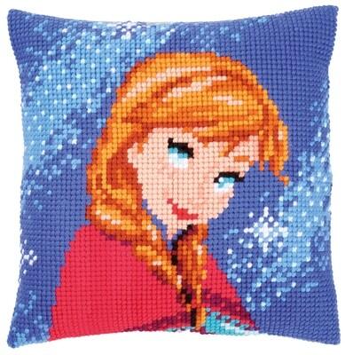 Kruissteek kussen Disney Frozen Anna
