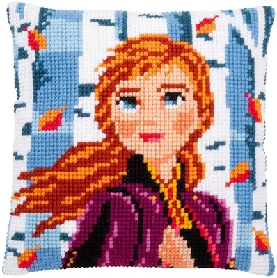Kruissteek kussen Disney Frozen 2 Anna