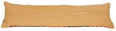 Kussenrug voor tochthond met rits 28 x 25cm beige