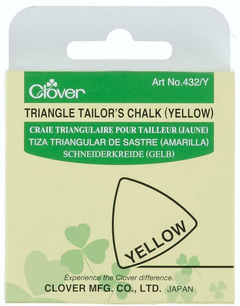 Kleermakerskrijt Clover geel