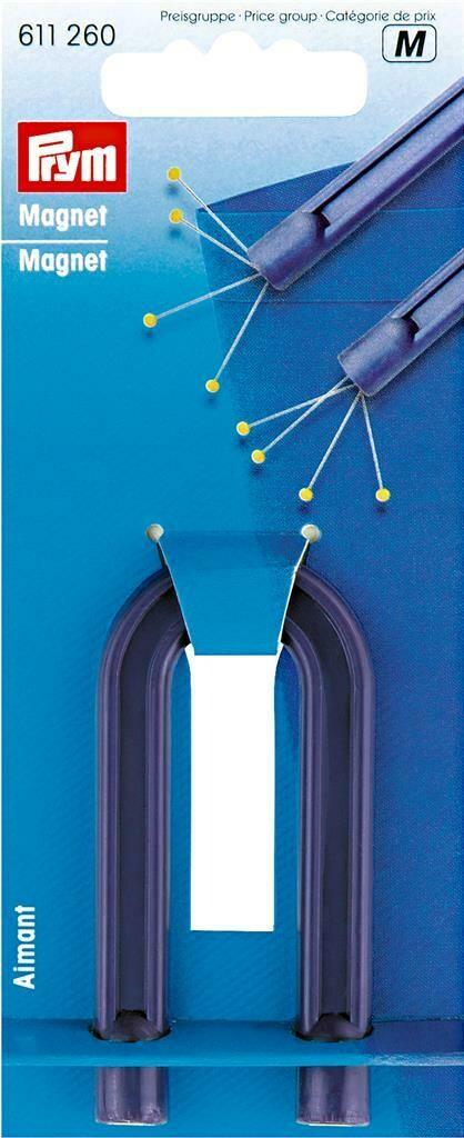 Hoefijzermagneet blauw