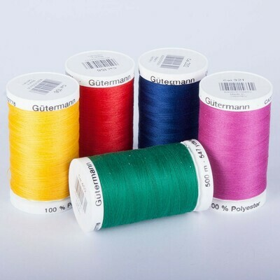 Gütermann 500m polyester
