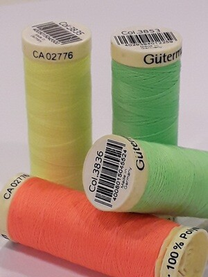 Gütermann fluo 100m polyester