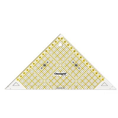 Patchwork driehoek 1/2 kwadraat