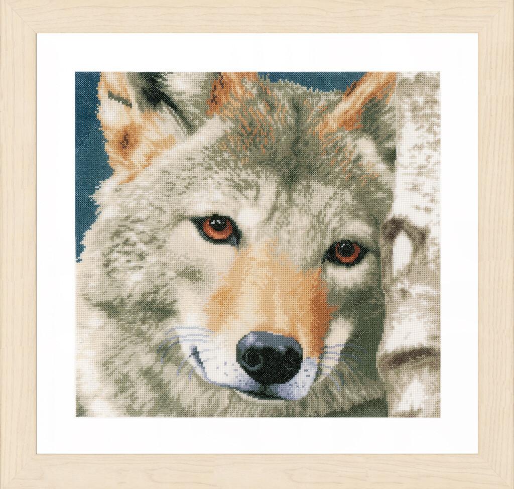 """Kruissteek Lanarte """"Wolf"""""""