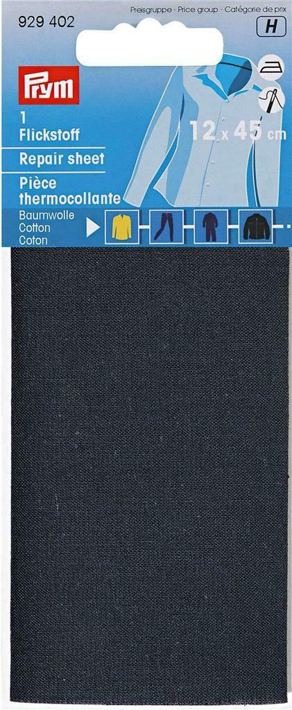 Verstelstuk opstrijkbaar marineblauw